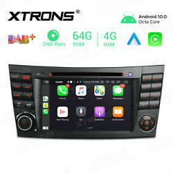 For Mercedes-benz E-w211 7-inch Android 10 Car Stereo Dvd Cd Gps Radio Octa-core