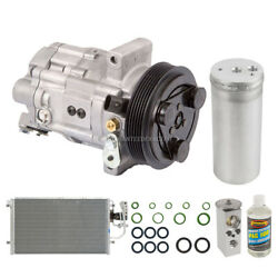 For Saturn Ls2 Lw2 L300 And Lw300 Oem Ac Compressor W/ Condenser Drier Tcp