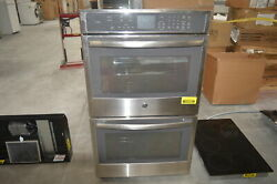 Ge Pt7550sfss 30 Stainless Double Electric Wall Oven Nob 28476 Mad