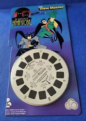 Batman And Robin Animated Series Tv Show View-master Reels Pack 3 Reel Set Opened