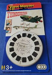 Rare Thunderbirds Tv Show Sci-fi Gerry Anderson View-master Reels Pack Opened