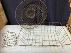 Vintage Wire Baskets And More