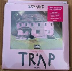 2 Chainz Pretty Girls Like Trap Music Limited Pink Lp Vinyl Record New Sealed