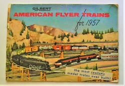 Gilbert American Flyer Trains For 1957 Color Catalogue