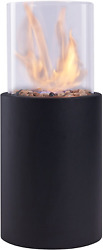 Table Top Fire Pit Portable Patio Heater Gas Propane Bowl Outdoor Fireplace