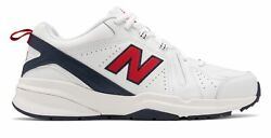New Balance Men#x27;s 608V5 Shoes White with Red $44.99
