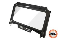 2019 – Current   Polaris RzrⓇ 1000 Front Folding Windshield With Wiper And Vents