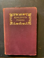 Robert Burns, Complete Poetical Works Of, Thomas Y. Crowell, Red Leather, 1900