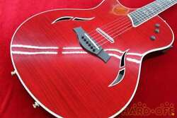 Taylor T5 Pro L/h Brr Lefty Red Made In Usa 2014 Electric Acoustic Guitar, U1004