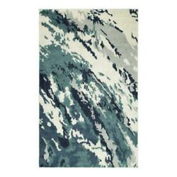Addison Rugs Reston 9and0396 X 13and0392 Nebulous Shag Fabric Area Rug In Blue