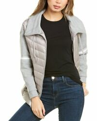 Herno Jersey Panel Quilted Jacket Women's