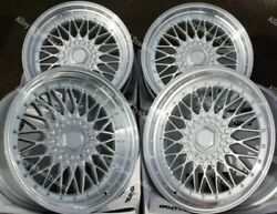 16 Spl Rs Alloy Wheels Fits Audi 90 100 80 Coupe Cabrio Saab 900 9000 4x108 Ss