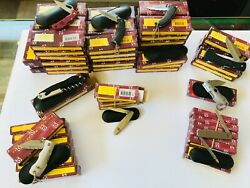 Very Big Lot 111x Pocket Knives All New In Box Homeij Large Collection Nib