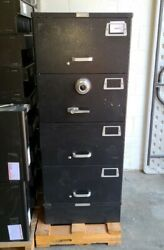 Mosler 4-drawer Gsa Safe Container Class 6 Jewelry Valuables Coins Paperwork Etc