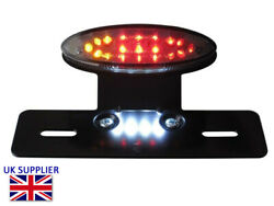 Rear Brake Tail Light And Indicators For Harley Sportster Softail Dyna Project Led