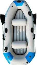 Inflatable Kayak Boat For Adult For 3 Person, Pvc Canoe Drift Boat Raft, With Oa