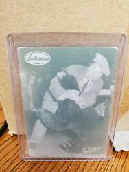 1994 Ted Williams Card Company Babe Ruth Printing Plate Wrestling A Bear