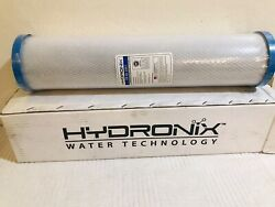 """Hydronix Cb-45-2001 Whole House 4.5""""x20""""carbon Block 1 Micron Water Filter"""
