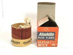 Vtg Nos Aladdin Blue Flame Heater Wick P.159905 For Series 15 And 8