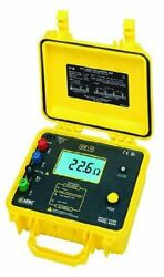 Aemc 4630 4-point Ground Resistance Tester Rechargeable Battery 2000 Ohms