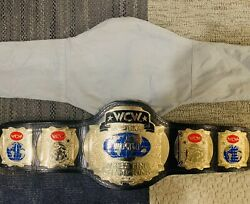 Rare Official Figures Toy Co Wcw Tag Team Championship Replica Wrestling Belt