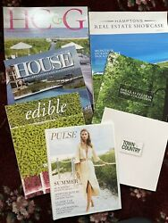 Hamptons Ny Real Estate And Restaurant Bundle Town Country H Andg Edible Pulse Etc