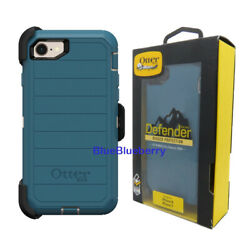 Otterbox Defender Case W/ Holster For Iphone 8 Iphone 7 Iphone Se 2nd Gen Blue