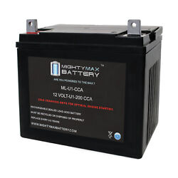 Mighty Max Ml-u1 12v 200cca Battery For Sears Suburban Lawn Tractor And Mower