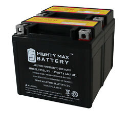 Mighty Max 2 Pack - Ytx5l-bs Replacement For Gt X5l-bs 32x5b 5lbs Atv Battery