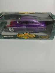 1/18 Ertl 1949 Mercury Lead Sled American Muscle Diecast 49 Merc Collectibles