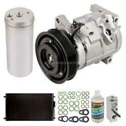 For Chrysler Town And Country Oem Ac Compressor W/ Condenser Drier Tcp