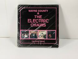 Wayne County And The Electric Chairs - Safari Years Uk - Import Damaged Case
