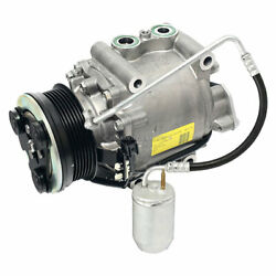 For Ford Five Hundred And Mercury Montego 1995 Oem Ac Compressor W/ A/c Drier Tcp