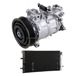 For Audi Q5 2013 2014 Oem Ac Compressor W/ A/c Condenser And Drier Tcp