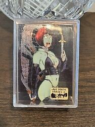 Lady Death Series 2 Ii Complete 100 Card Chromium Trading Cards Set Chaos Krome