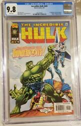 Incredible Hulk 449 Cgc 9.8 - 1st Appearance Of The Thunderbolts Mcu Disney