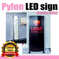 Custom Pylon Monument Sign Standing 50x200cm Increase Your Businessand039s