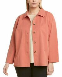 Lafayette 148 New York Plus Button-front Blouse Womenand039s