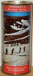 Tennentand039s Scene Skiing At Coire Cas Flat Top Beer Can From Scotland 44cl