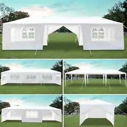10and039x10and039/20and039/30and039 Outdoor Canopy Party Tent Patio Gazebo Wedding Bbq Beach Tent Us