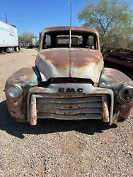 Gmc Cab Great For Restoration Or Yard Art Year Is 49-52