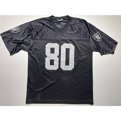 Oakland Raiders Jerry Rice Jersey Nfl 80 Large Made In Usa Vintage