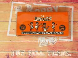 1964 The Beatles Long Eating Licorice Record Original Vintage Rare Box Only