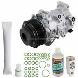 For Toyota Camry 2007-2011 Oem Ac Compressor W/ A/c Repair Kit Tcp