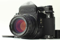 【exc+5】 Pentax 67 Ttl Mirror Up Smc T 6x7 105mm F/2.4 Lens From Japan
