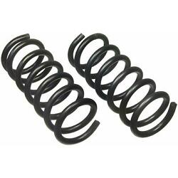 For Chevrolet Express 3500 Front Coil Spring Set Moog Chassis Products 81006