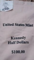 2003 Pandd Kennedy Halves 100 Face Mint Sewn Bag 2d6 Sealed Box Free Shipping
