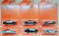 Hot Wheels 53rd Anniversary Orange And Blue Series Set Of 6 Cars 2021 Mix 2