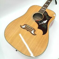 Gibson Dove 2018 Limited Dreadnought Natural Flamed Maple Back U1168