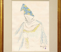 Jean Cocteau Drawing Male Gay French Male Wizard Magician Harry Potter